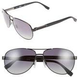 BOSS 62mm Polarized Aviator Sunglasses