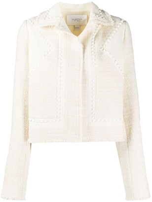 Giambattista Valli Studded Fitted Jacket