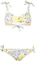 Emmanuela Swimwear - floral print bikini - women - Polyamide/Spandex/Elastane - M