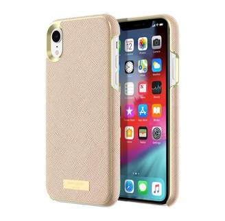 Kate Spade New York Wrap Case Saffiano Rose Gold Plate for iPhone XR