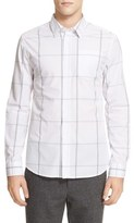 Saturdays Nyc 'Reed' Windowpane Plaid Sport Shirt