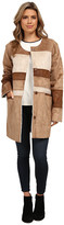 Sam Edelman Color Block Shearling Jacket