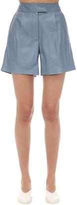 Sportmax Nepeta Leather Shorts