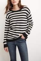 Velvet Cath Stripe Cashmere Sweater