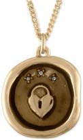 Rachel Roy Gold-Tone Heart Talisman Pendant Necklace