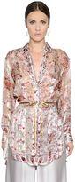 Etro Floral Printed Silk Georgette Shirt