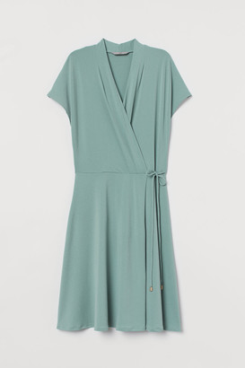 H&M Wrap Dress - Turquoise