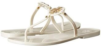 Tory Burch Mini Miller Flat Thong (Clear) Women's Sandals