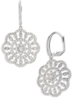 Nina Women's Sunburst Drop Earrings