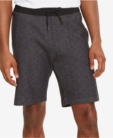 "Kenneth Cole Reaction Men's Heathered Elastic Drawstring 9.5"" Shorts"
