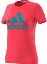 adidas Women's Badge Of Sport Smoothie Tee