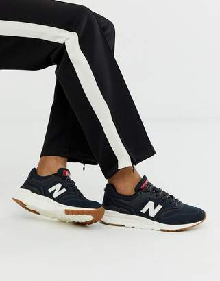 New Balance 997 trainers in black