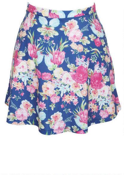Delia's Floral Banded Skirt Set