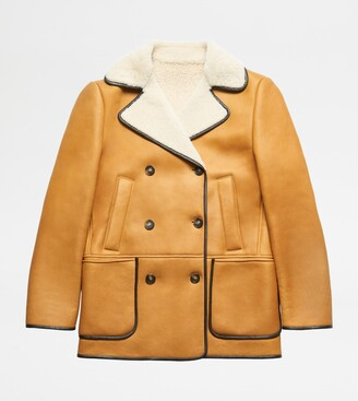 Tod's Peacoat in Suede