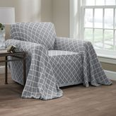 Innovative Textile Solutions Reversible Ogee Chair Throw