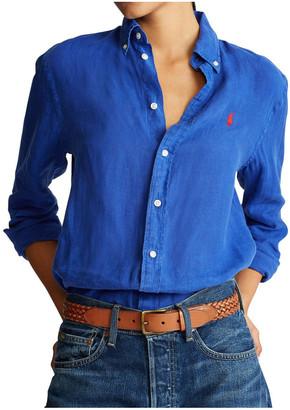 Polo Ralph Lauren Linen Button-Down Shirt