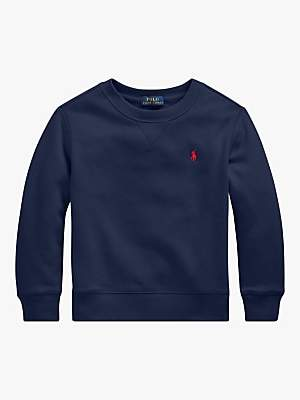 Polo Ralph Lauren Boys' Logo Sweatshirt, Navy