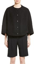 Chloé Women's Wool Blend Cape Jacket