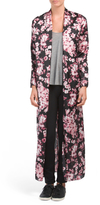 Juniors Made In USA Charmeuse Robe