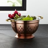 Crate & Barrel Copper Colander