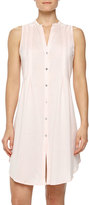 Hanro Sleeveless Shirtwaist Nightgown, Tender Rose