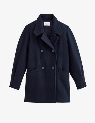 Claudie Pierlot Galinette wool-blend coat