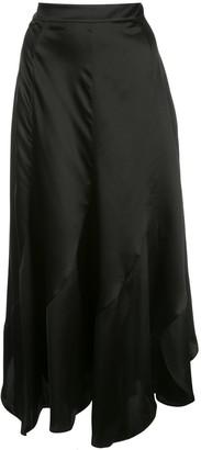 Nicholas Asymmetric Midi Skirt