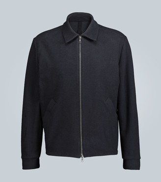 Harris Wharf London Reverse-loopback jersey jacket