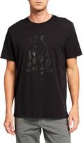 Rag & Bone Men's Tonal Pizza Rat Graphic T-Shirt