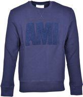 Ami Alexandre Mattiussi Ami Logo Applique Sweatshirt