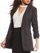 Gianni Bini Jemma Tweed Shawl Style Jacket