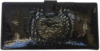 Salvatore Ferragamo Black Patent leather Wallets