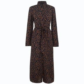 Bardot Leopard Shirt Dress