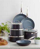Green Pan Valencia Pro Ceramic Non-Stick 11-Pc. Cookware Set with Bonus Pan Protectors