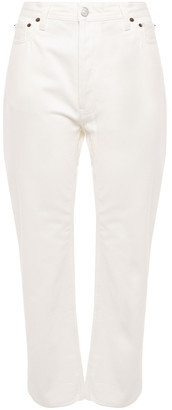 Acne Studios Log High-rise Straight-leg Jeans