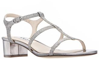 Nina Block-Heel Sandals - Gelisa