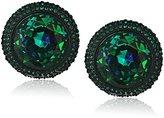 Kate Spade Round Studs Green Multi-Stud Earrings