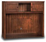 Beadboard Media Hutch, Chestnut
