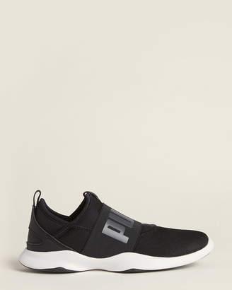 Puma Black & White Dare Mesh Running Sneakers