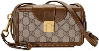Gucci GG mini bag with clasp closure