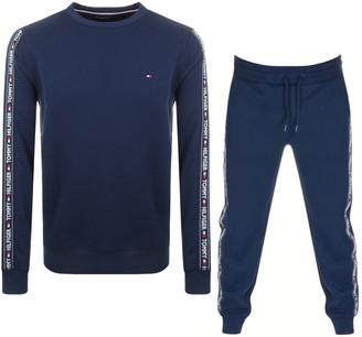 Tommy Hilfiger Loungewear Tracksuit Navy