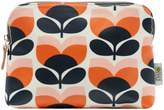 Orla Kiely Flower stripe print cosmetic bag