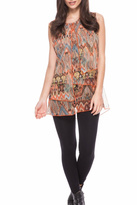 Adore Tiered Layer Top
