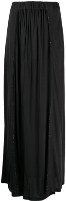 La Perla Side Slit Midi Skirt