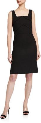 Lafayette 148 New York Jennette Burano Boucle Weave Sheath Dress