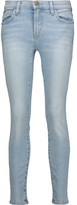 Current/Elliott The Stiletto mid-rise distressed faded skinny jeans