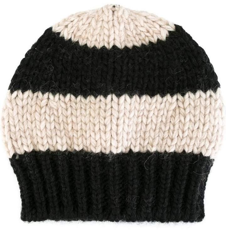 Danielapi striped knit beanie