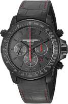 Raymond Weil Men's 'Nabucco' Swiss Automatic Stainless Steel and Rubber Casual Watch, Color: (Model: 7850-BSF-05207)