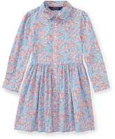 Ralph Lauren Floral Cotton Shirtdress