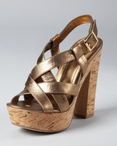 Vince Camuto Sandals - Duval Strappy Cork